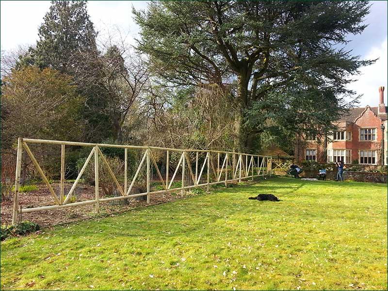Trellis Work At Hascombe Near Godalming, Surrey