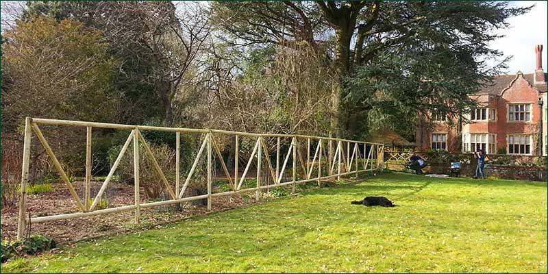 Trellis Work at Haslemere, Surrey